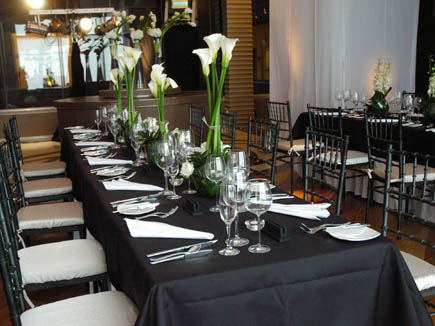 Chaine Des Rotisseurs Rhapsody In Black And White Dinner Party